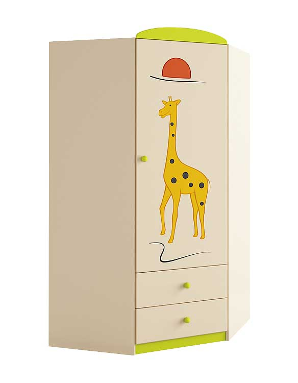 Выбираем шкаф в детскую комнату