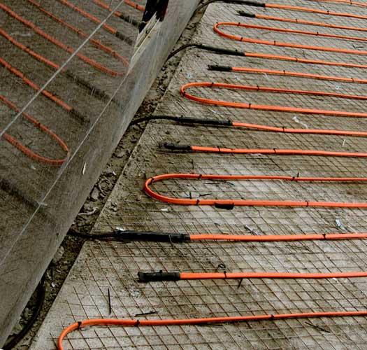 Системы кабельного обогрева