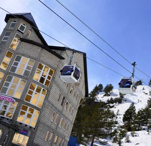 Ценообразование на жилые объекты у популярных горнолыжных курортов Москвы и Подмосковья