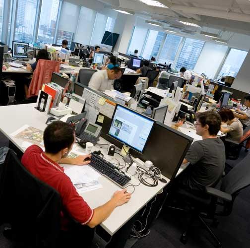 Дизайн офиса для программистов