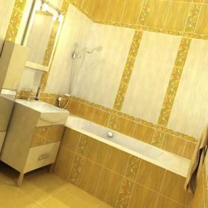 расчет плитки для ванной комнаты