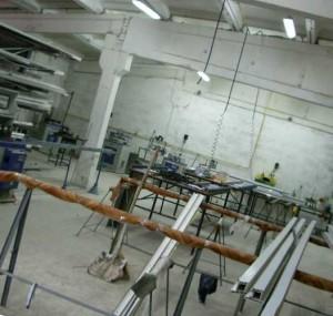 оборудование помещения для производства мебели