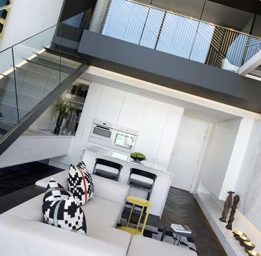 Двухэтажные квартиры в новостройках
