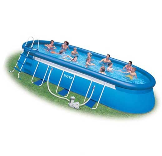 Какой бассейн купить надувной или каркасный?