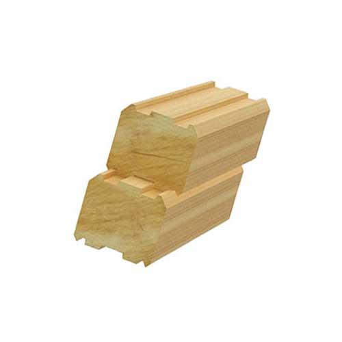 Использование профилированного бруса в строительстве
