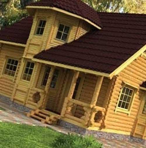Фирма «Деревянный дом»