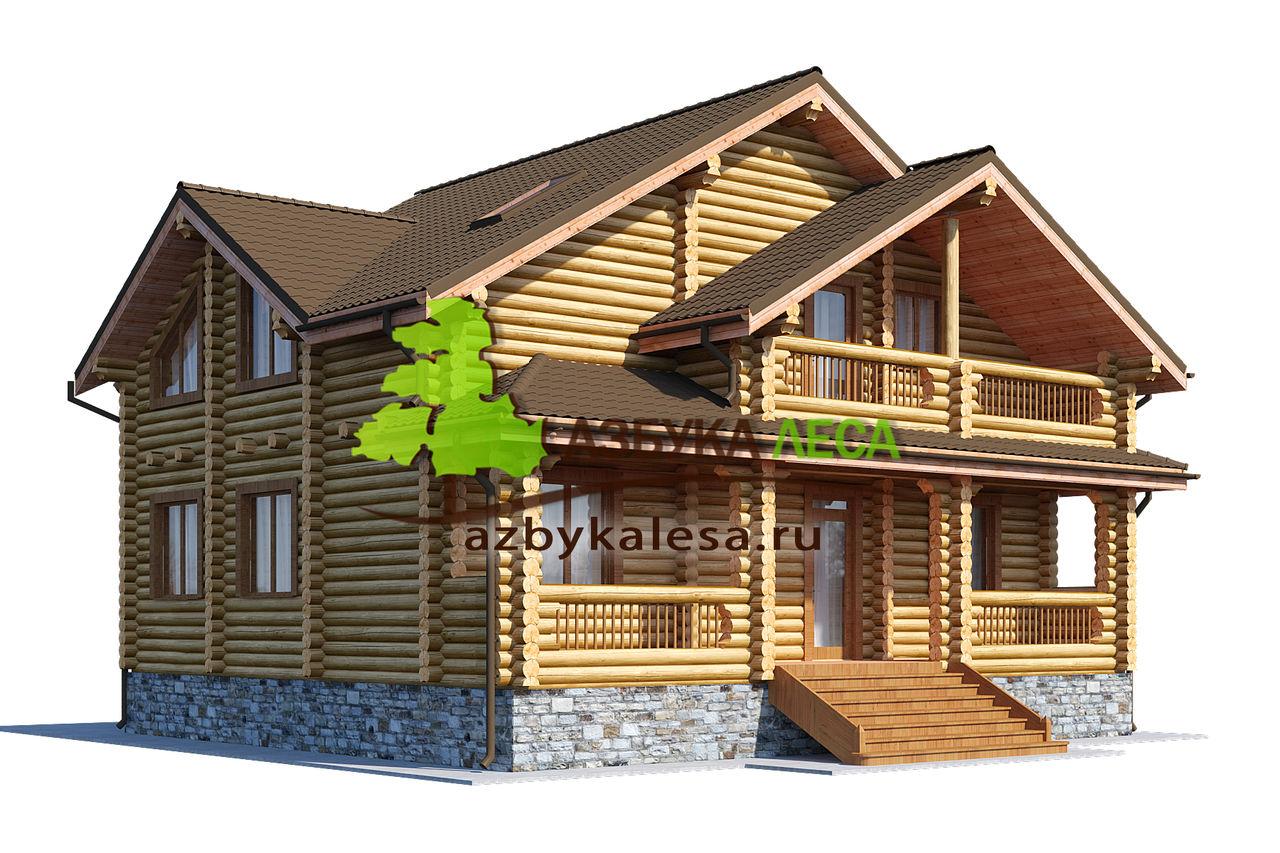Хотите осуществить мечту? Поможем заказать дом из бревна недорого!