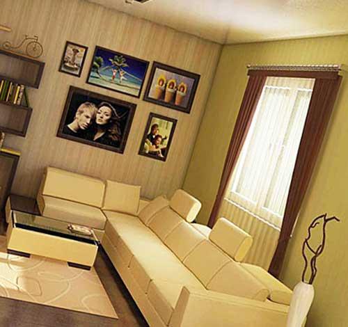 Идеальный интерьер небольшого зала