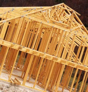 Этапы строительства дома из дерева