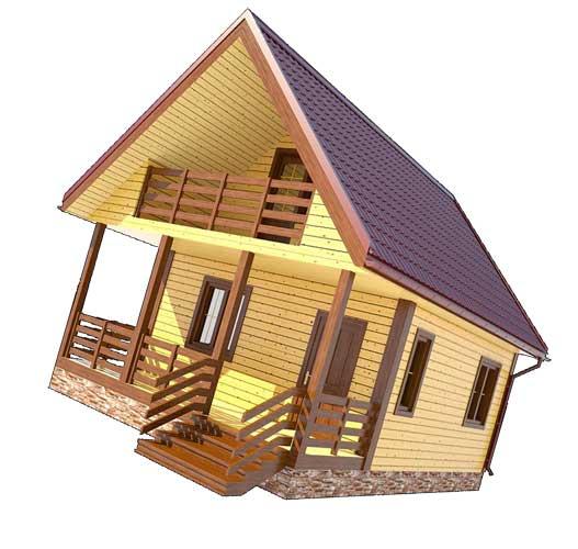 Особенности ухода за домом из деревянного бруса