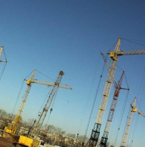 Аренда башенных кранов в Киеве в ООО «Дельта-Групп»