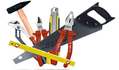 Инструменты – главная составная строительных работ