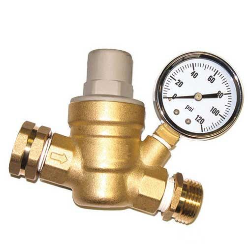 Редуктор понижения давления воды