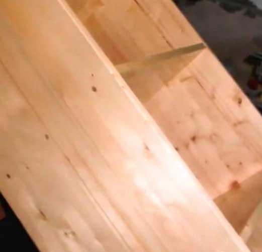 Шкаф из дерева своими руками