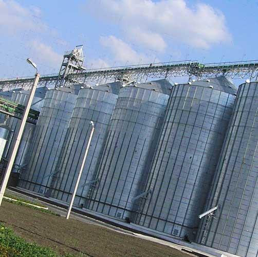 Зернохранилища – специальные сооружения для хранения зерновых культур
