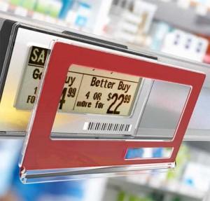 электронные ценники для магазинов