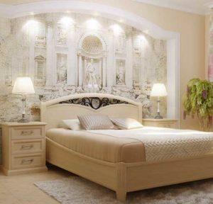 классическая спальня в итальянском стиле