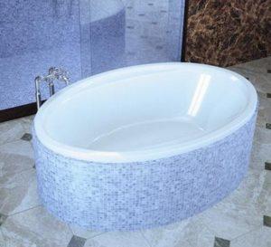 ванны овальной формы