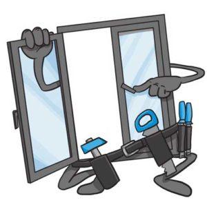 Серьезный подход к ремонту окон