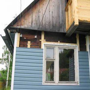 Технология отделки деревянного дома сайдингом